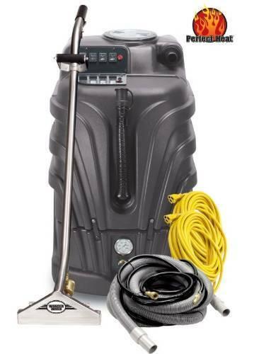 Powr-Flite Pfx1385Max2 Max Hot Water Carpet Extractor Starter Pack, 13 Gal Ca...