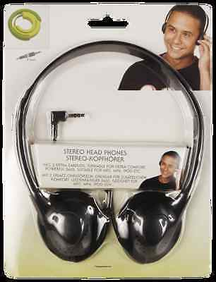 Stereo-Bügel-Kopfhörer mit 3,5mm Klinkenstecker für MP3, MP4, iPod, etc. 1855079 Mp3 Mp4 Stereo Kopfhörer