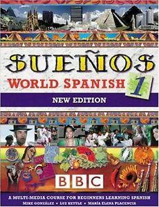 Suenos World Spanish 1 Coursebook (Sueños),Luz Kettle, Maria Elena Placencia, M