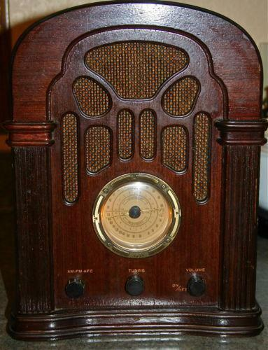 Vintage Radio Replica on crosley radio reproductions