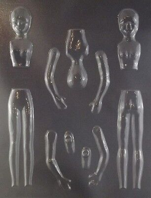 Woman Candy Mold (People Mold Woman Gumpaste Chocolate Candy)