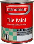 Blue Tile Paint