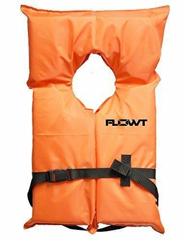 Flowt 40000-CLD AK-1 Type II Life Jacket, Orange, Infant / C