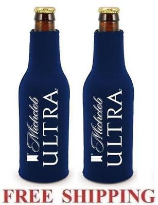 2 Michelob ULTRA Bottle Koozie Cooler Coozie  BRAND NEW REAL DEAL 1st Quality