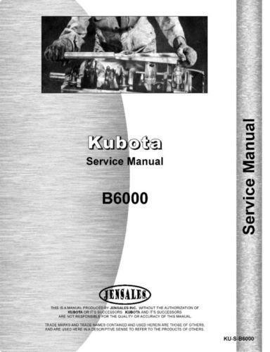 Kubota tractor manual ebay kubota service manual sciox Images