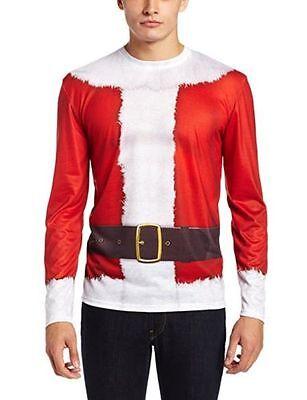 New Faux Real Men's Santa Claus, Multi, Size - Real Santa Claus Kostüm
