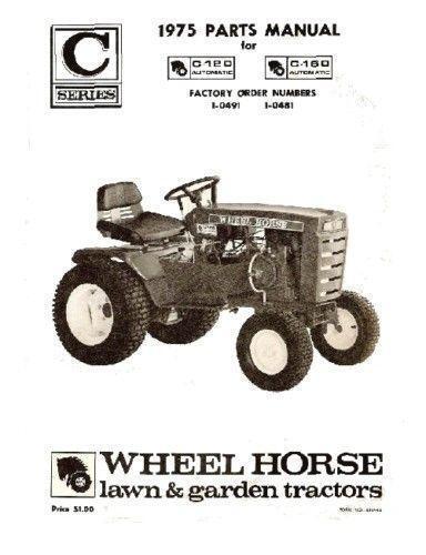 Parts Of A Tractor Wheel : Wheel horse tractor parts ebay