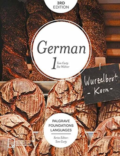 Foundations German 1 (Palgrave Foundations Languages) NEW BOOK