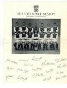 Sheffield Wednesday Autographs