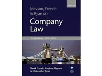 Company Law Mayson French & Ryan 2015-2016 NEW