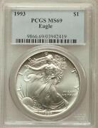 Silver Eagle PCGS MS69