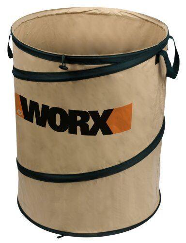 WORX WA0030 Landscaping 26-Gallon Collapsible Yard Waste Bag/Leaf Bin