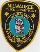 Milwaukee Police Patches