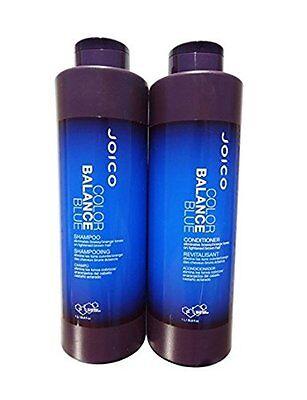 Joico Color Balance Blue shampoo and Conditioner DUO Set 33oz/1 liter