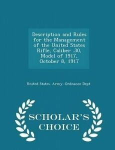 Description and Rules for the Management of the United States Rif 9781293937402