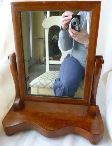 Antique Shaving Mirror Ebay