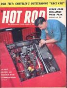 Hot Rod Magazine 1956