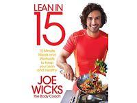 Lean In 15 The Shift Plan By Joe Wicks - Brand New Paperback