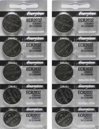 Lot of 10 PC ENERGIZER CR2032 WATCH BATTERIES 3V LITHIUM CR 2032 DL2032 BR2032 Consumer Electronics