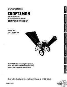 Craftsman-Chipper-Shredder-Manual-Model-247-775870