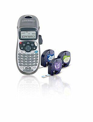 Dymo Handheld Label Maker With 3 Bonus Letratag Labeling Tapes Lt-100h Plus