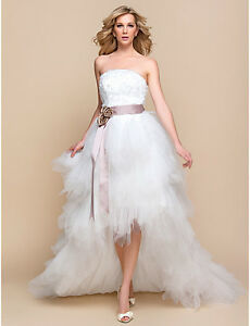 Two NEW Wedding Gowns - Great for a Last Minute Wedding!