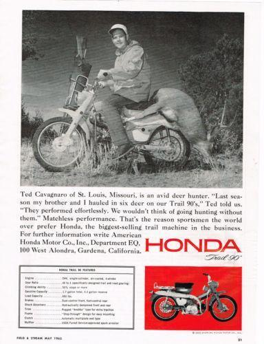 Honda 90 Trail Bike Ebay