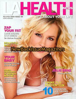 La Health News 11 09 Julie Benz November 2009 New