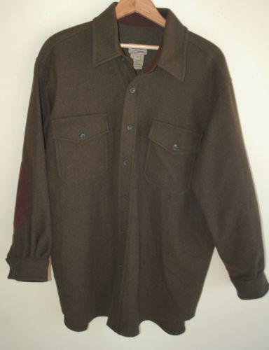 Ll Bean Wool Shirt Ebay