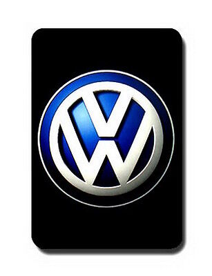 Volkswagen Logo Car New Original Sign Ads Fridge Magnet on Rummage