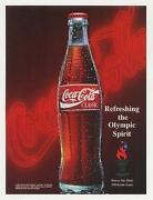 Olympic Coke Bottles