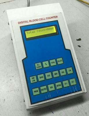 Digital Blood Cell Counter With 12 Operating Keys Lab Equipment