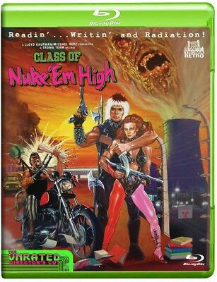 Class of Nuke 'Em High [New Blu-ray] Full (Class Of Nuke Em High Blu Ray)