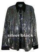 Mens Silver Shirt