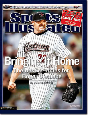 May 24, 2004 Roger Clemens Houston Astros Sports Illustrated NO LABEL