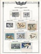 Federal Duck Stamp Collection