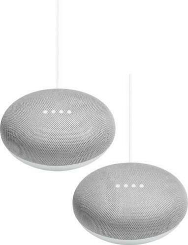 Google Home Mini Duo Pack Wit vanaf E 0,01 OP=OP MEGADEAL !!