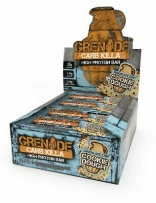 Grenade Carb Killa Chocolate Chip Cookie Dough Box Of 12