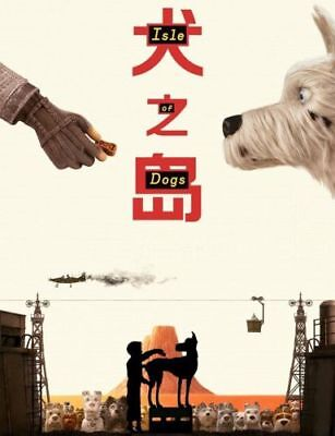 Isle Of Dogs Movie 2017 Wes Anderson   Wall Print 27X40 24X36in Poster E006