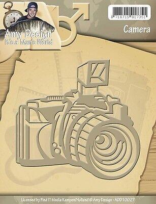 Amy Design Its a Mans World Camera Fotoapparat Kamera Fotokamera