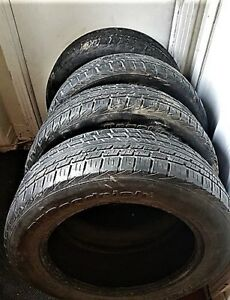 4 Tires 225 60 18 BFGoodrich Traction T/A FOR SPRING ~ 2 seasons