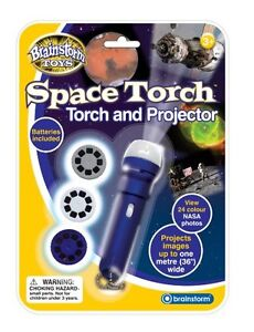 Brainstorm Space Torch And Projector Educational Astro Toy