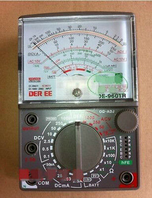 De960tr Analogue Analog Multimeter Electrical Meters