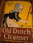 Old Dutch Cleanser Sign