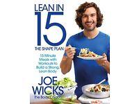 Lean in 15 - The Shape Plan - By Joe Wicks - New Paperback