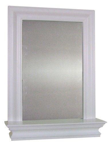 wall mirror with shelf ebay. Black Bedroom Furniture Sets. Home Design Ideas