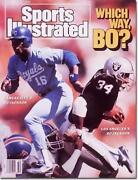 Bo Jackson Sports Illustrated