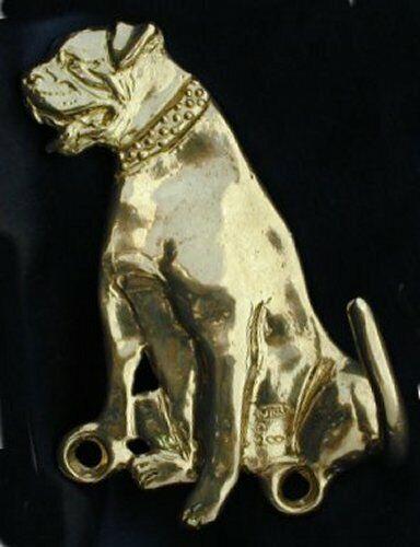 AMERICAN BULLDOG  Hook in Bronze