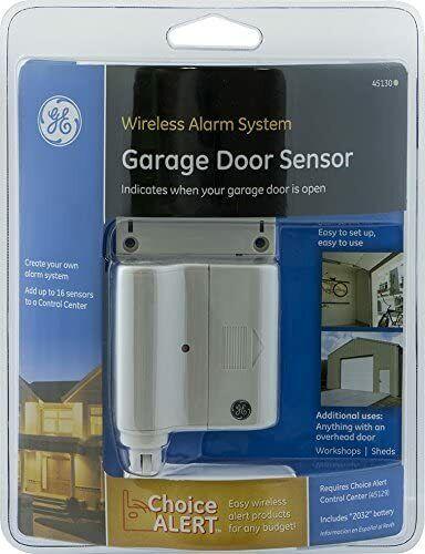 GE General Electric Garage Door Sensor 45130 Wireless Alarm System Choice Alert