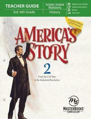 AMERICAS STORY 2 Teacher Guide O'Dell Homeschool Grade 3-6 Master Books